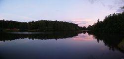 Skylake pan facing dam