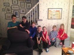 Grandchildren Christmas 2014 #1