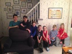 Grandchildren Christmas 2014 #2