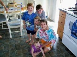 Five Grand Children (July 2009)