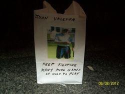 John Valetta's illumination bag