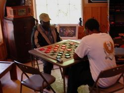 A serious Game of Checkers