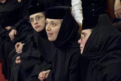 Mother Gabriella and monastics from Dormition Monastery