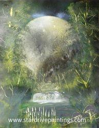Lucid Moon 16x20