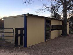 2 paddock shelters 2016