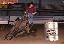 Sadie 2005 Glen rose Barrel race