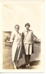 Grandma Olson and Vivian