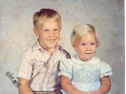Chris (5) and Jen (2)