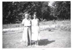 Leonard & Vivian 20th Anniversary - 1956