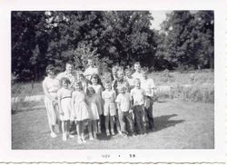 November 1956 - Cousins