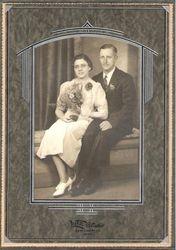 Vivian and Leonard Arneson Wedding