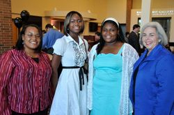 Grady County Scholarship Students with Mrs. Stubbs