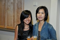 Scholarship Recipient Stephanie Hong and Mother