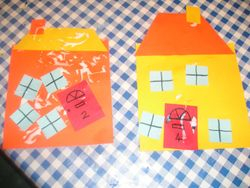 Houses from our building theme