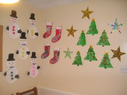 Some of our Christmas bits