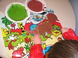 Painting Dinasaurs