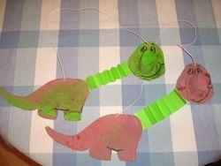 Finished Dinosaurs