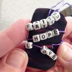Faith Hope Love Tagline Oct. 2012