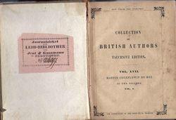 Martin Chuzzlewit 1st printing