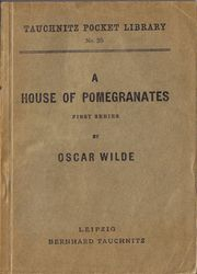 I35 A House of Pomegranates. First Series