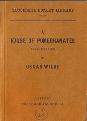 I36 A House of Pomegranates.  Second Series