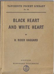 I52 Black Heart and White Heart