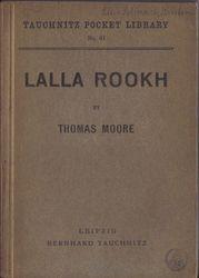 I61 Lalla Rookh