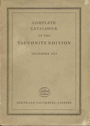 Complete catalogue December 1934