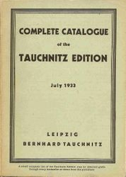 Complete catalogue July 1933
