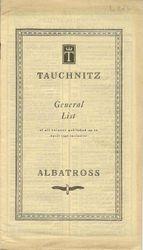 General List 1940