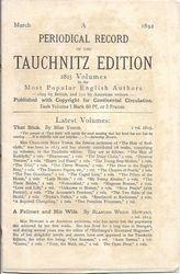 Periodical Record March 1892