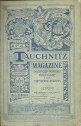 Tauchnitz Magazine  August 1892
