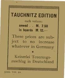 price flyer