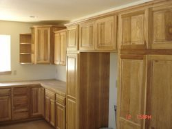 Hickory cabinetry!