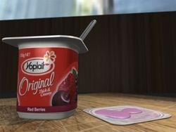 Yogurt - thick and creamy