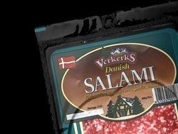 Verks Salami - detail top corner