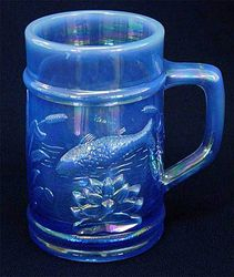 Fishermans Mug, powder blue opal