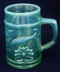 Fishermans Mug, sea green opal