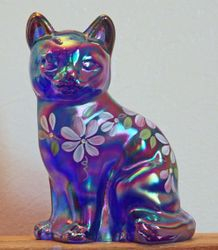 Fenton cat, blue