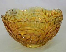 Circle Scroll master berry bowl, marigold