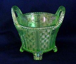 Bushel Basket, ice green