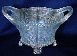 Bushel Basket, 8 sided, white