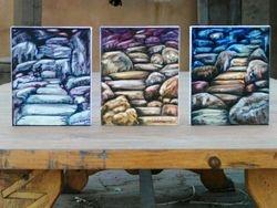 Mystical Megaliths by M-J de Mesterton, Oil on Canvas Copyright 2008