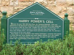 Harry Powers cell -behind the old Town Hall