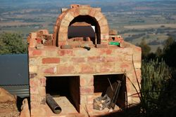 Front Arch and oven door frame