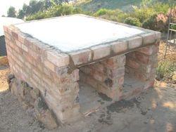 The slab oven base