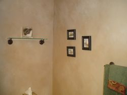 Wall paper removal and transformation