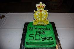 50 Year Anniversary Cake