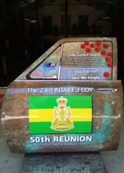 23rd Intake Memorial Door
