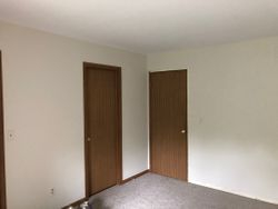 Before - hollow core doors & trim